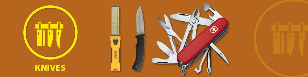 Knives/Axes & Sharpeners